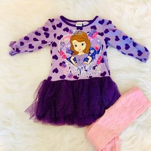 Disney Sophia the First outfit 3T